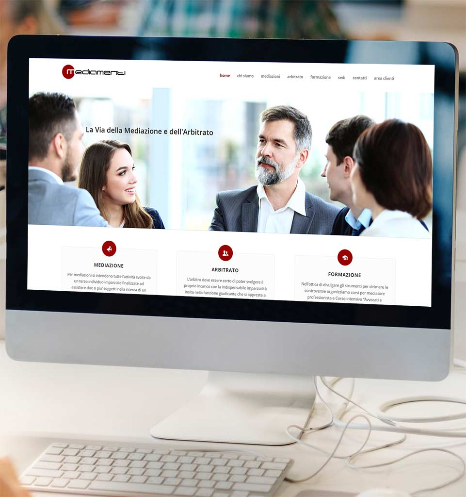 Mediamenti realizzazione portale web