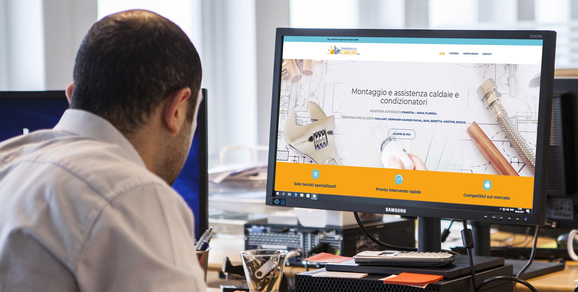 Termocaruso Napoli Web Site