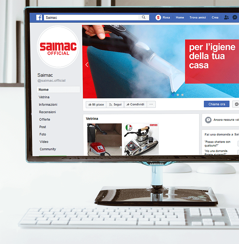 Social media Partner per Saimac