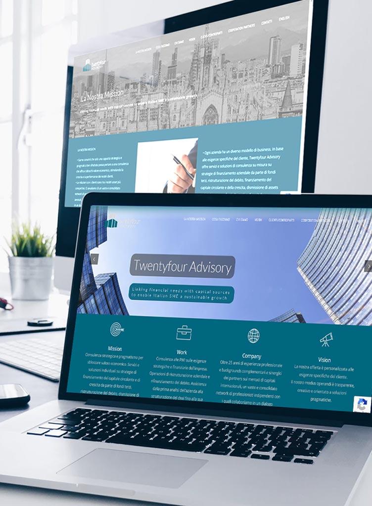 TFADV Design Logo e Progettazione e realizzazione sito web