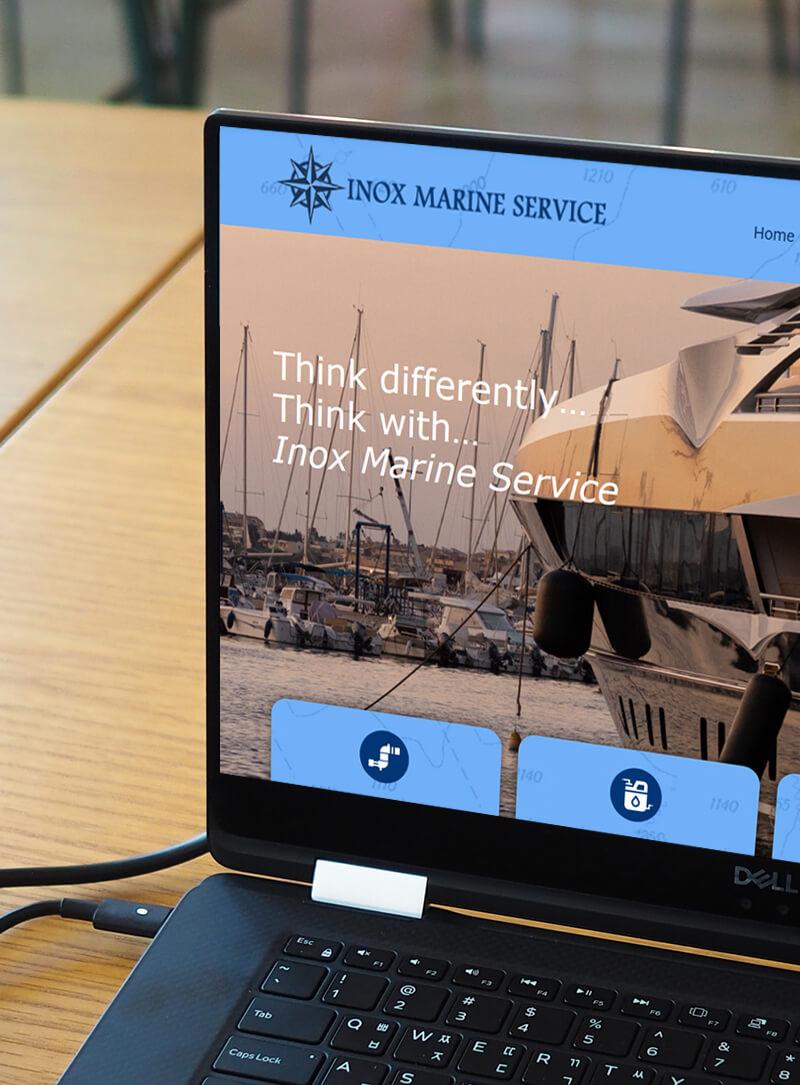 Inox Marine Service realizzazione portale web