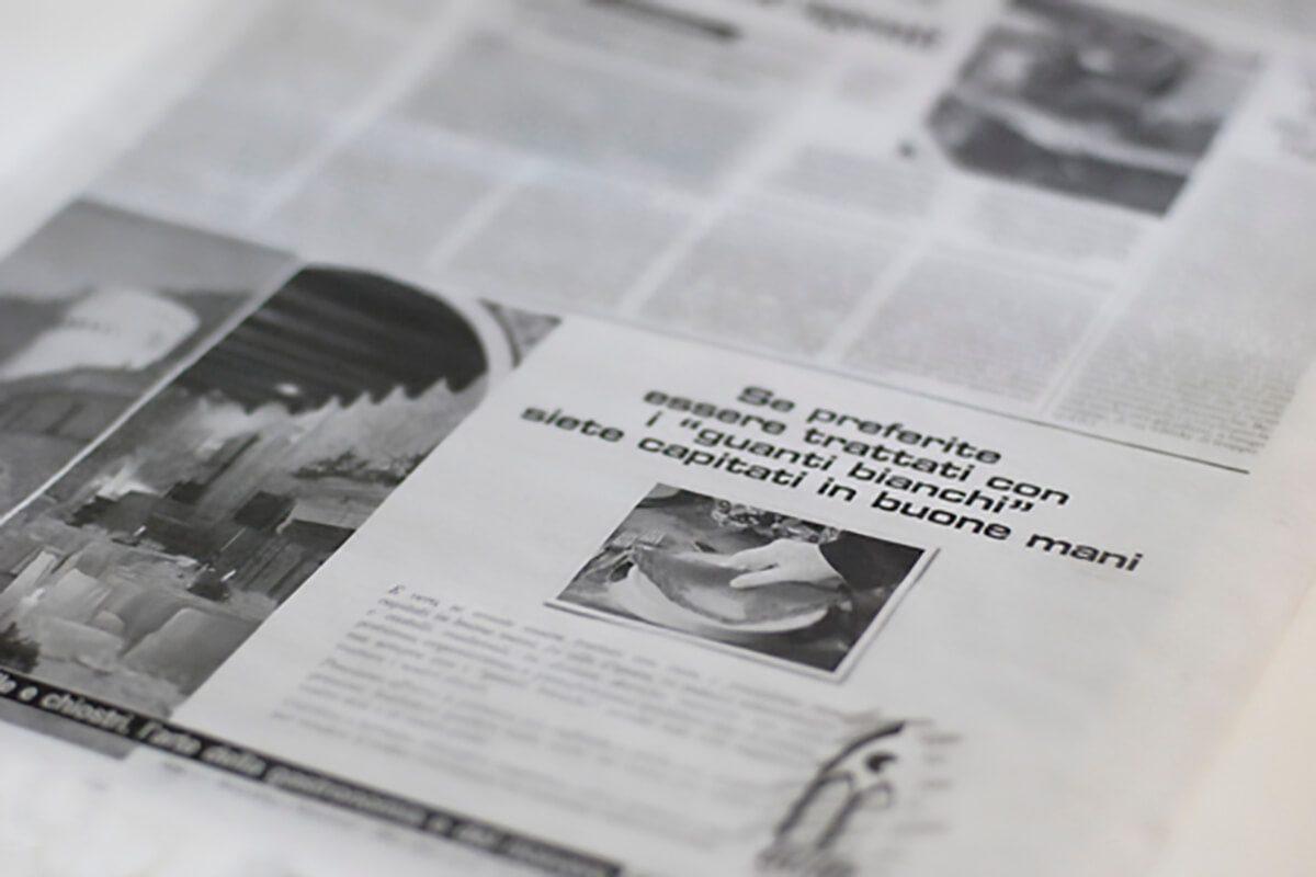 Pubblicità mezzo stampa Galà Eventi