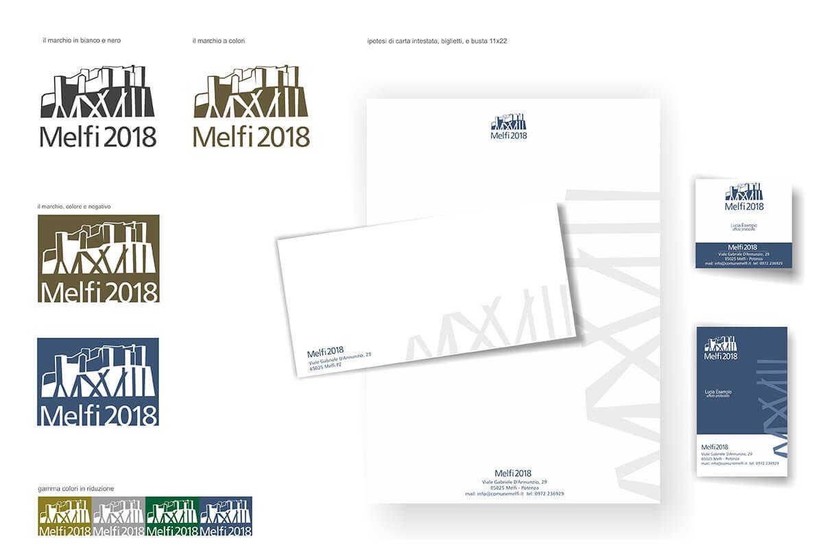 Melfi 2018 Declinazione logo