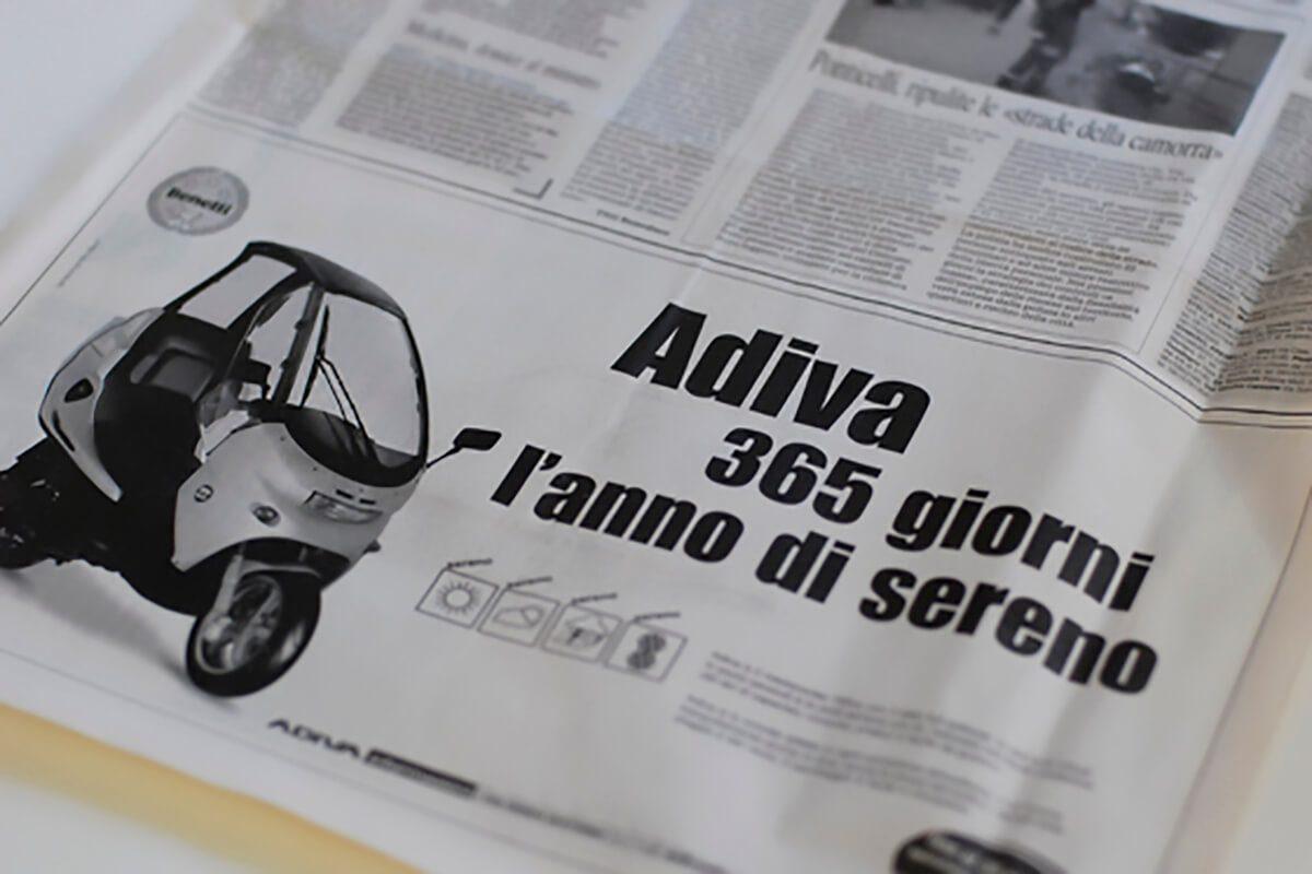 Adiva campagna advertising